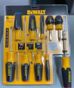 סט מברגים 10 יחידות DeWalt DWHT62513