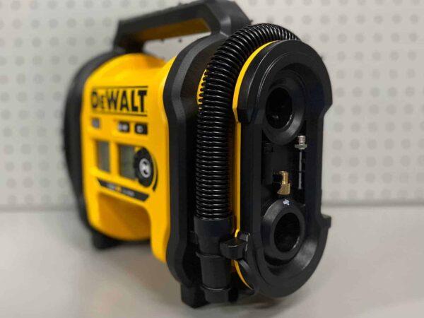קומפרסור נטען 18V (גוף בלבד) DeWalt DCC018 דיוולט מקצועי לחץ גבוהה חיבור למצת של ה רכב ועובד על סוללות של דיוולט מחיר