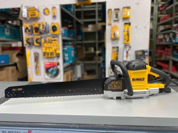 אליגטור מסור לחיתוך בלוקים מבית DeWalt 1700W DWE397 מסור לחיתוך בלוקים בלוק איטונג עץ כולל להב TCT מחיר יחודי במינו