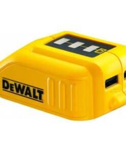 מתאם ממיר סוללות DeWalt דיוולט ל USB דגם DCB090 מתאים לכלל הסוללות של דיוולט יעודי עבור מי שיש לו בבית סוללות ויוצא איתם לשטח מחיר