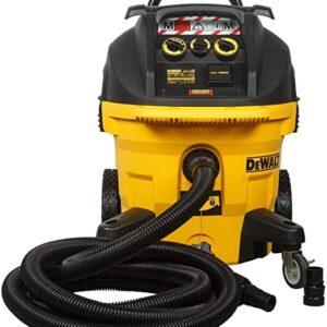 שואב אבק רטוב/יבש 35 ליטר 1400W Dewalt DWV902 תעשייתי מנוע חובק דופק רוטט לעבודות ממושכות של שפכטל ניקיון ניסור ועוד דיוולט מחיר