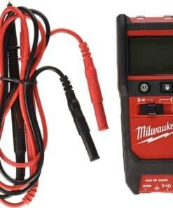 רב מודד דיגיטלי Milwaukee 2213-20 דגם יחודי במינו עם תצוגה דיגיטלית פנס לד דגם 20K התנגדות מילווקי חשמלאים מחיר