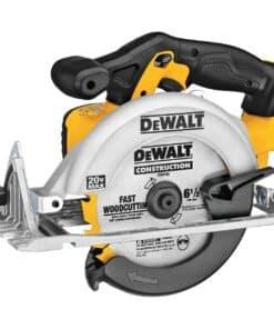 """מסור עגול 165מ""""מ נטען 18/20V Dewalt דגם DCS393 דיוולט שידרוג דגם קודם עם מהירות גבוהה יותר חיתוך מדויק יותר מחיר"""
