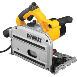 """מסור מסילה עגול יורד """"1/2 6 (165מ""""מ) דגם DWS520K מבית DeWalt דגם חזק במיוחד עם שליטה במהירויות עבודה נוח במיוחד מחיר דיוולט"""