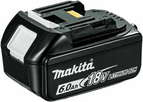 סוללה ליתיום מבית MAKITA מקיטה דגם BL1860 מתאים לכלל הכלים של 18V הסוללה הפופולרית ביותר בשוק מיועד לעבודה ממושכת