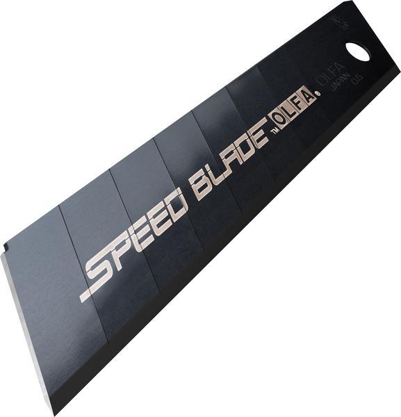 """להב / להבים לסכין יפני מבית אולפה OLFA מיוצר ביפן דגם של 18מ""""מ מתאים לעבודה ממושכת דגם Speed Blade הכי חזק בקטגוריה"""